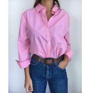 Ralph Lauren striped button down dress shirt L